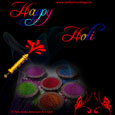 Happy And Colourful Holi