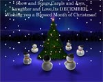 Blessed Month of Christmas