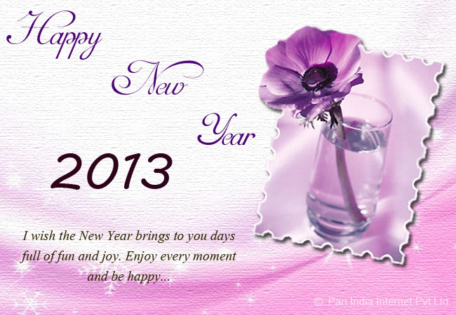 Warm wishes on New Year
