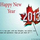 Wish you a Happy New Year 2013