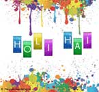 Colourful Holi
